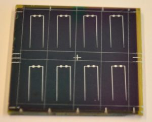 Ultrathin nanopatterned CIGS solar cell